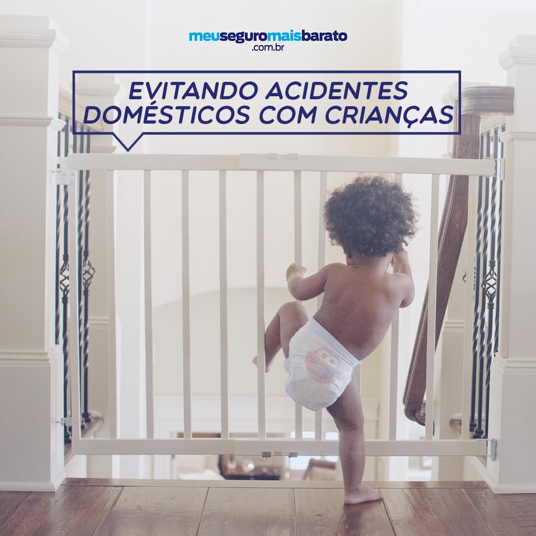 Evitando acidentes domésticos com crianças