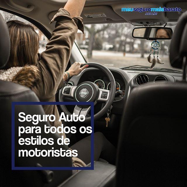 Seguro Auto para todos os estilos de Motoristas